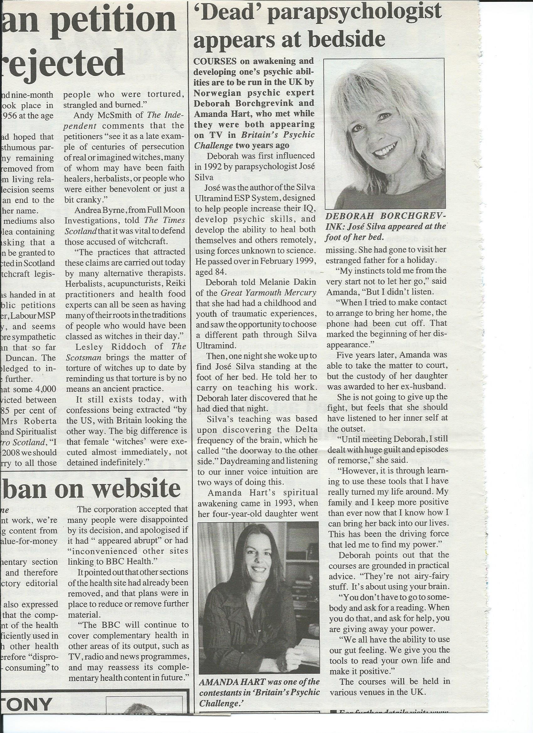 Psychic News  2008