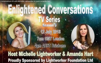 Interview with Michelle Lightworker for Enlightened Conversations, Australia – July 2018